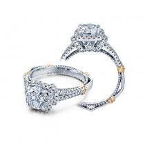 Verragio Split Shank Halo Diamond Engagement Ring
