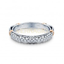 Verragio Parisian Collection 14k Gold Wedding Ring D-103SW-GOLD