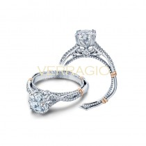 Verragio Parisian Collection Engagement Ring D-105-GOLD