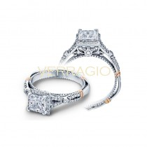 Verragio Parisian Collection Engagement Ring D-109P-GOLD