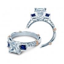 Verragio Diamond and Sapphire Engagement Ring