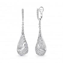 Uneek Dangle Diamond Earrings LVEW033W