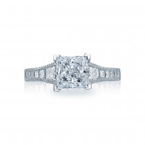 Tacori Platinum Crescent Engagement Ring HT2510PR12X