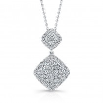 Bouquet Collection Diamond and 14K White Gold Pendant LVN656