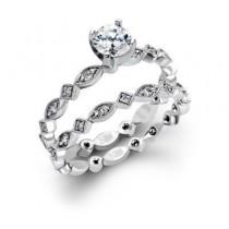 Stylish Zeghani Diamond Wedding Set