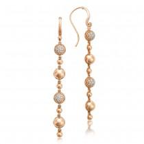 Pavé Dew Drop Line Earrings SE222P