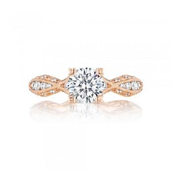 Tacori 2578RD6512PK 18 Karat Pretty In Pink Engagement Ring