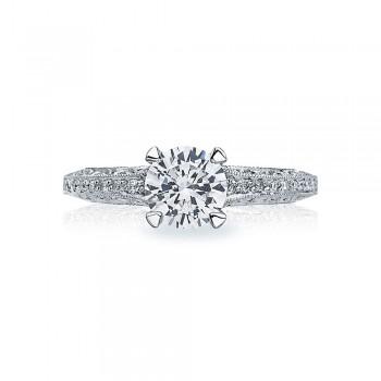 Tacori Crescent Platinum Engagement Ring 2616RD65