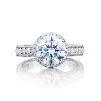 Tacori 2646-35RDR8 18 Karat Dantela Engagement Ring