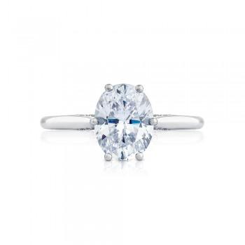 2650OV9X7 Platinum Simply Tacori Engagement Ring