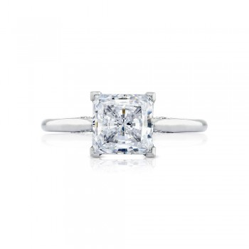 2650PR7 Platinum Simply Tacori Engagement Ring
