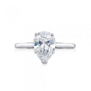 2650PS10X7 Platinum Simply Tacori Engagement Ring