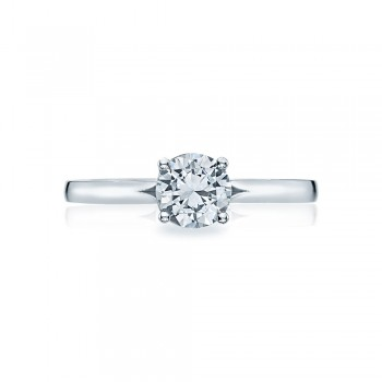 Simply Tacori Platinum Diamond Solitaire Engagement Ring 50RD6