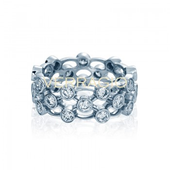 Verragio Eterna Collection Diamond Eternity Band WED-4025L-Gold