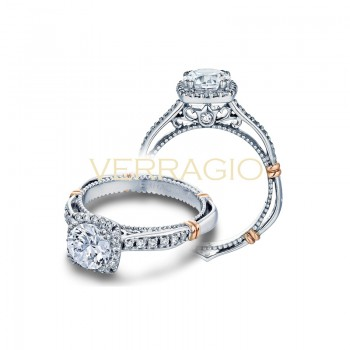 Verragio Parisian Collection Engagement Ring D-104CU-GOLD