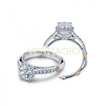 Verragio Parisian Collection Engagement Ring D-104R-GOLD