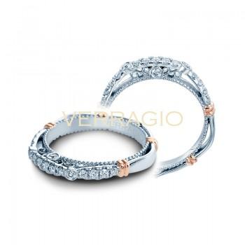 Verragio Parisian Collection Diamond Weding Band D-126W-GOLD