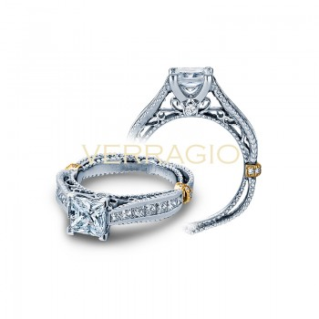 Verragio Channel Set Diamond Engagement Ring