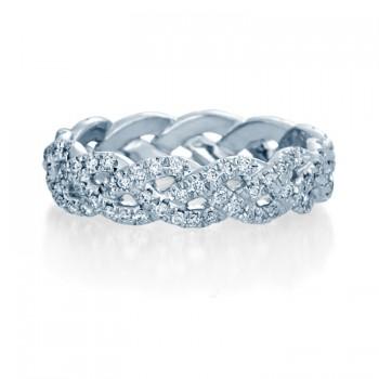 Verragio Twist Diamond Wedding Band
