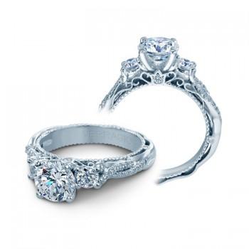 Verragio Three Stone Diamond Engagement Ring