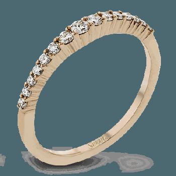 18k Gold Rose LR1163-R Right Hand Ring