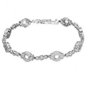 Elegant Diamond Covered Bracelet by Zeghani