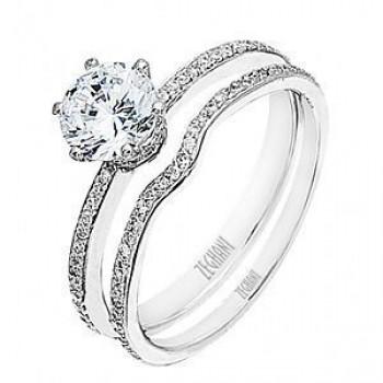 Dazzling Zeghani Diamond Wedding Set