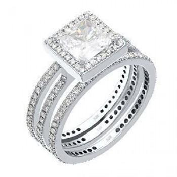 Designer Diamond Wedding Set by Zeghani