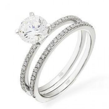 Beautiful Designer Diamond Wedding Set by Zeghani