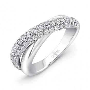 Uneek Diamond Ring in White Gold LVBW327W